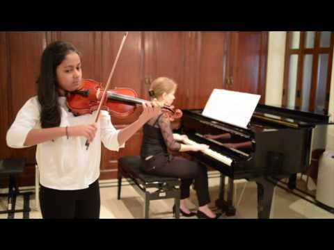 MMMF - Shanaya Menezes, Violin