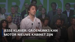 Klaver geeft eerste toespraak als lijsttrekker