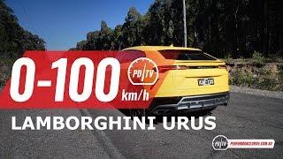 2019 Lamborghini Urus 0-100km/h & engine sound. Head over to https:...