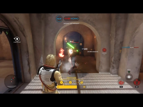 Star Wars Battlefront | Extraction Small Teams | JABBA'S PALACE 50+ Kills!!