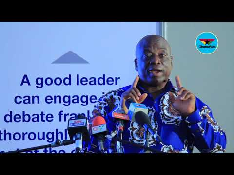 Patrick Akorli's full speech on creating leaders for the nation's development