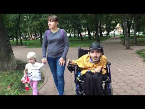 Вреж Киракосян. Семейная прогулка в Москве.