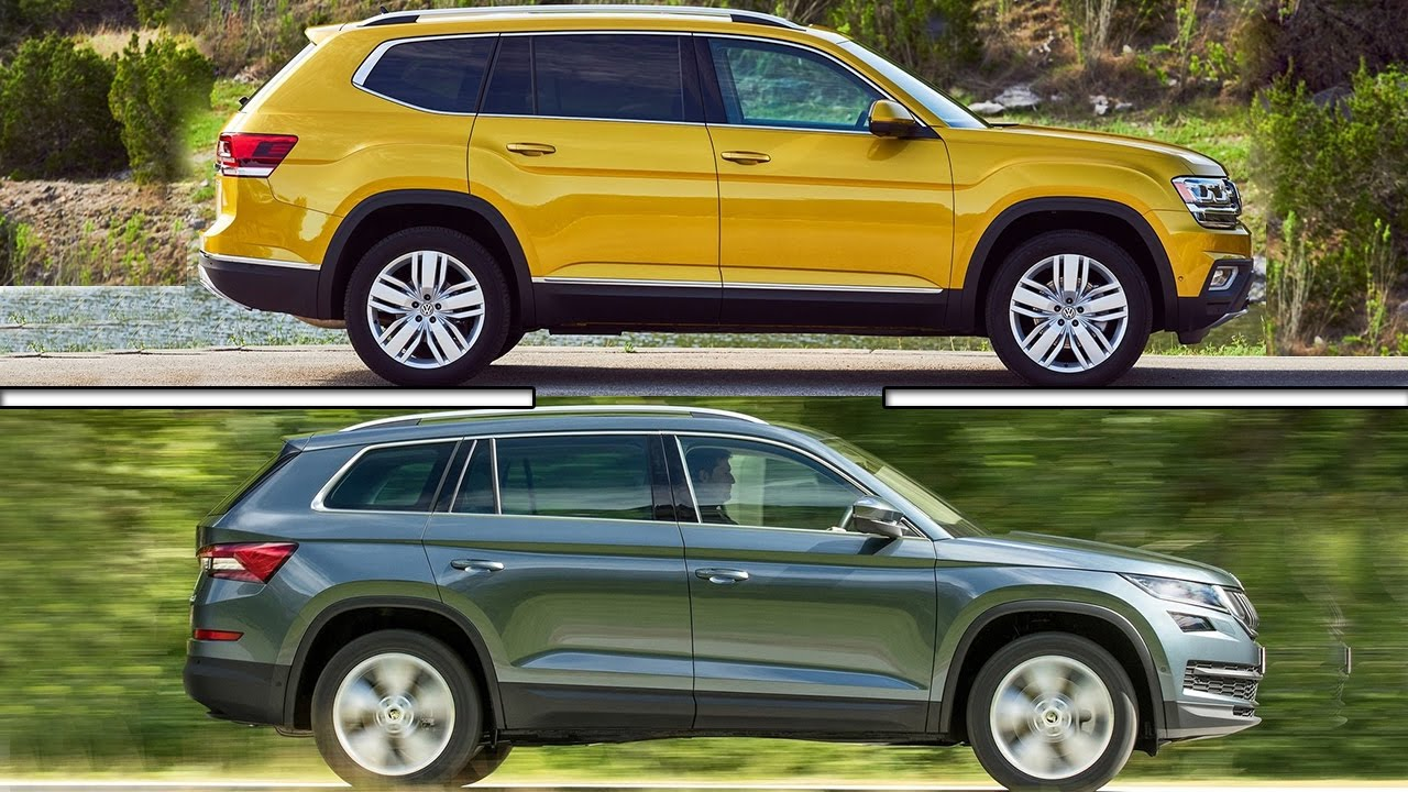 volkswagen atlas   skoda kodiaq youtube
