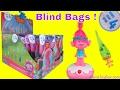 Dreamworks Trolls Blind Bags Series 4 Dancing Poppy Satin Chenille Names Surprise Toys for Kids