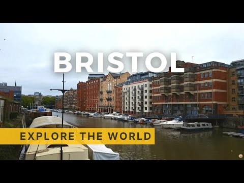 🇬🇧 Walking In BRISTOL 4K, UK