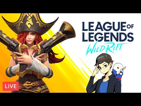9 19 Rank Mode Placement Matches In League Of Legends Wild Rift Youtube