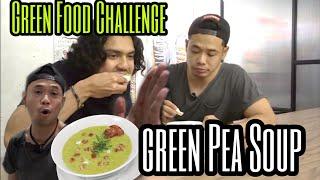 Green Food Challenge 2: Cara Masak & Makan Green Pea Soup