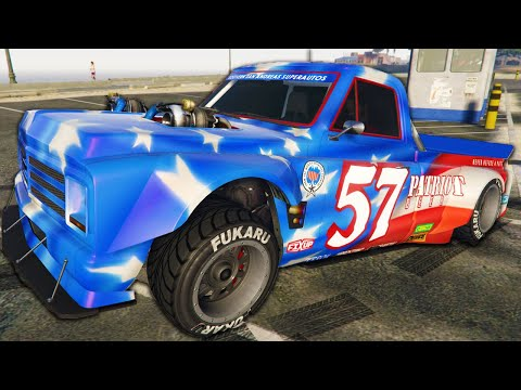 I Drove The Ultimate Drift Truck - GTA Online Casino DLC