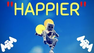 Happier -- Fortnite Music Video -- Marshmello/Bastille Video