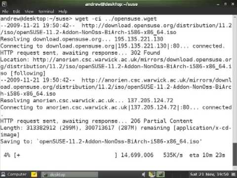 Using Wget As A Download Manager