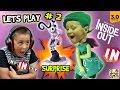 Lets Play DISNEY INFINITY 3.0 INSIDE OUT #2: FEAR SURPRISE!! Brain Power 1 & 2 w/ FGTEEV Dad & Kids