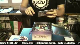 Unboxing Hyperdimension Neptunia Victory Limited Edition