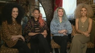 Neon Jungle interview: Girls talk One Direction and Little Mix