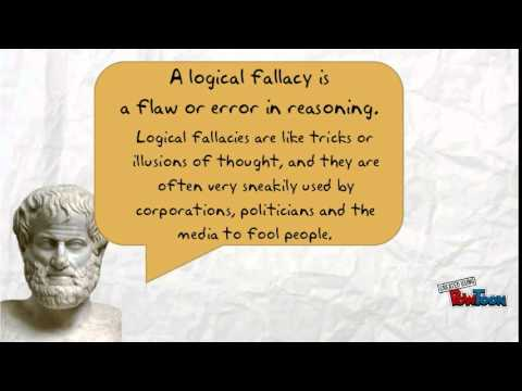Aristotle Introduces Logical Fallacies