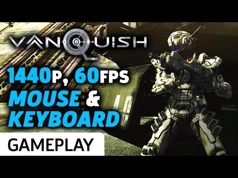 Vanquish 1440p 60fps PC Gameplay On Mouse & Keyboard