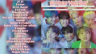 Gambar cover [PLAYLIST] BTS - 5th Muster Magic Shop 'DREAM PLAYLIST'