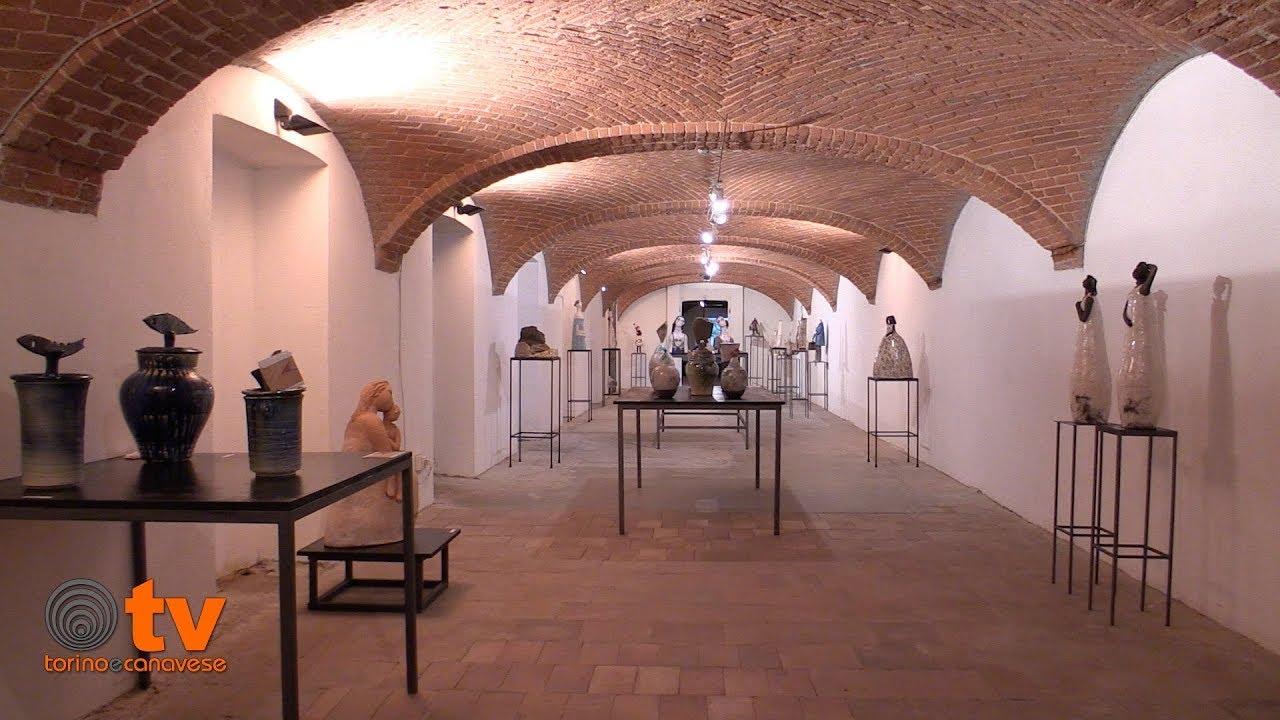 """Inaugurata la mostra """"Pottery Art"""" alla Fornace Pagliero di Castellamonte"""