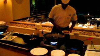 Asian Cuisine at the Barbados Hilton Hotel