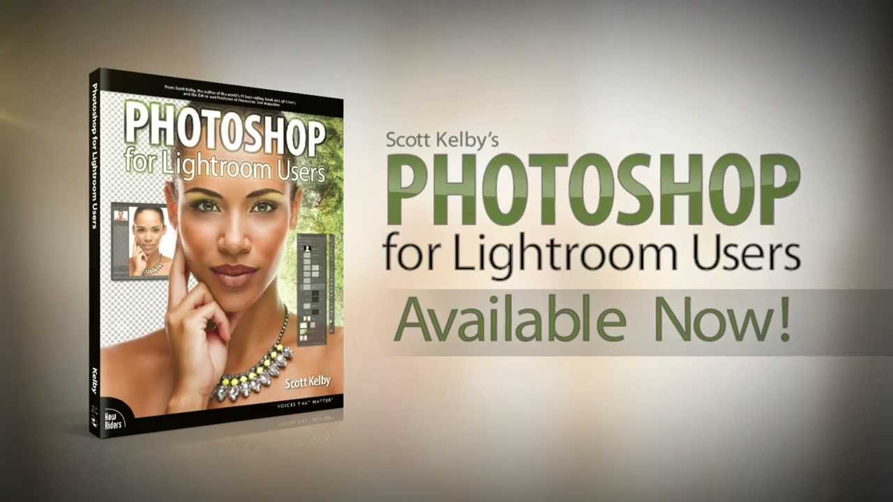 Scott Kelby Lightroom 5 Book