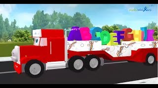 abc songs for children | animation 3d truck songs for kids | children nursery rhymes