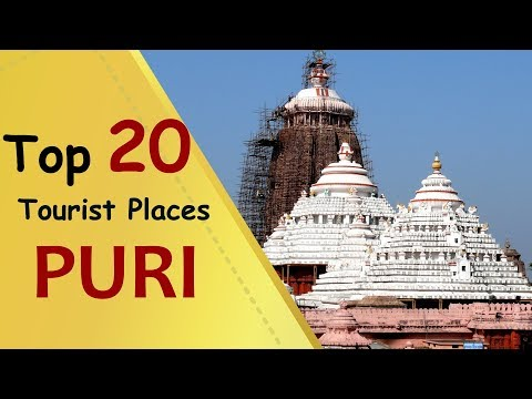 """PURI"" Top 20 Tourist Places | Puri Tourism"