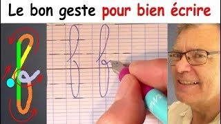 Ecriture française gs cp ce1 : Comment bien écrire la lettre f # 6