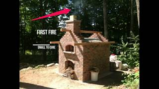 How to build a Pizza Oven in 10 min
