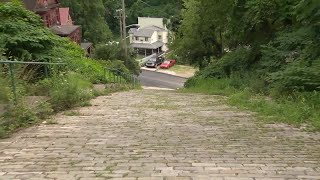 Pittsburgh's Canton Avenue: The steepest street in the US