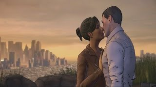 batman telltale episode 5 bruce and selina kiss scene kissing catwoman