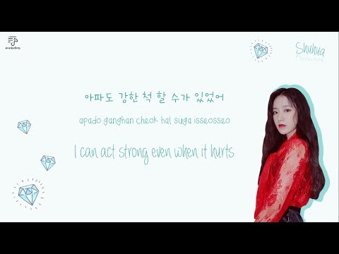 (G)I - DLE 여자아이들 - Fake Love Color-Coded-Lyrics Han l Rom l Eng 가사 by xoxobuttons