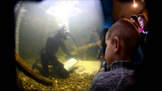 Nurek odwiedził akwarium w Myślęcinku. Maluchy były wniebowzięte