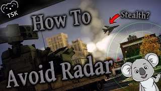 How to Avoid Radar Detection | War Thunder Tutorial