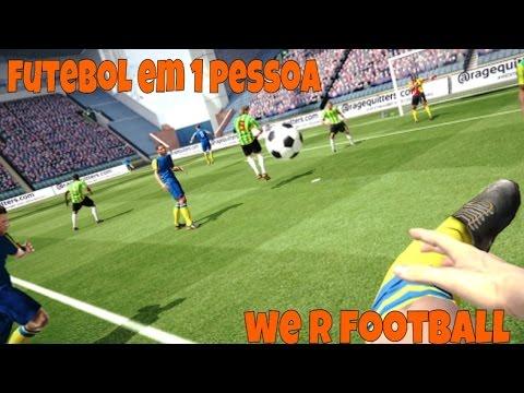 Jogo de futebol para 1