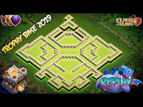NEW INSANE! Trophy Farming Base Town Hall 11 (TH11) - Hybrid Farming Base 2019 Clash Of Clans