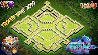 NEW INSANE Trophy Farming Base Town Hall 11 TH11 Hybrid Farming Base 2019 Clash Of Clans