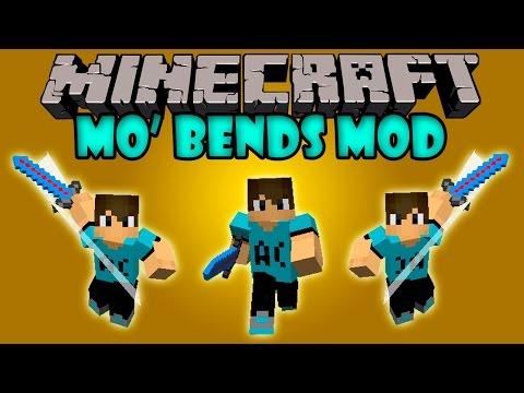 MO' BENDS MOD - Animaciones Realistas! - Minecraft Mod 1.7.2 Y 1.7.10 Review ESPAÑOL