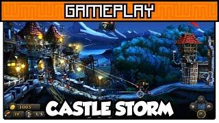 Castle Storm - Gameplay