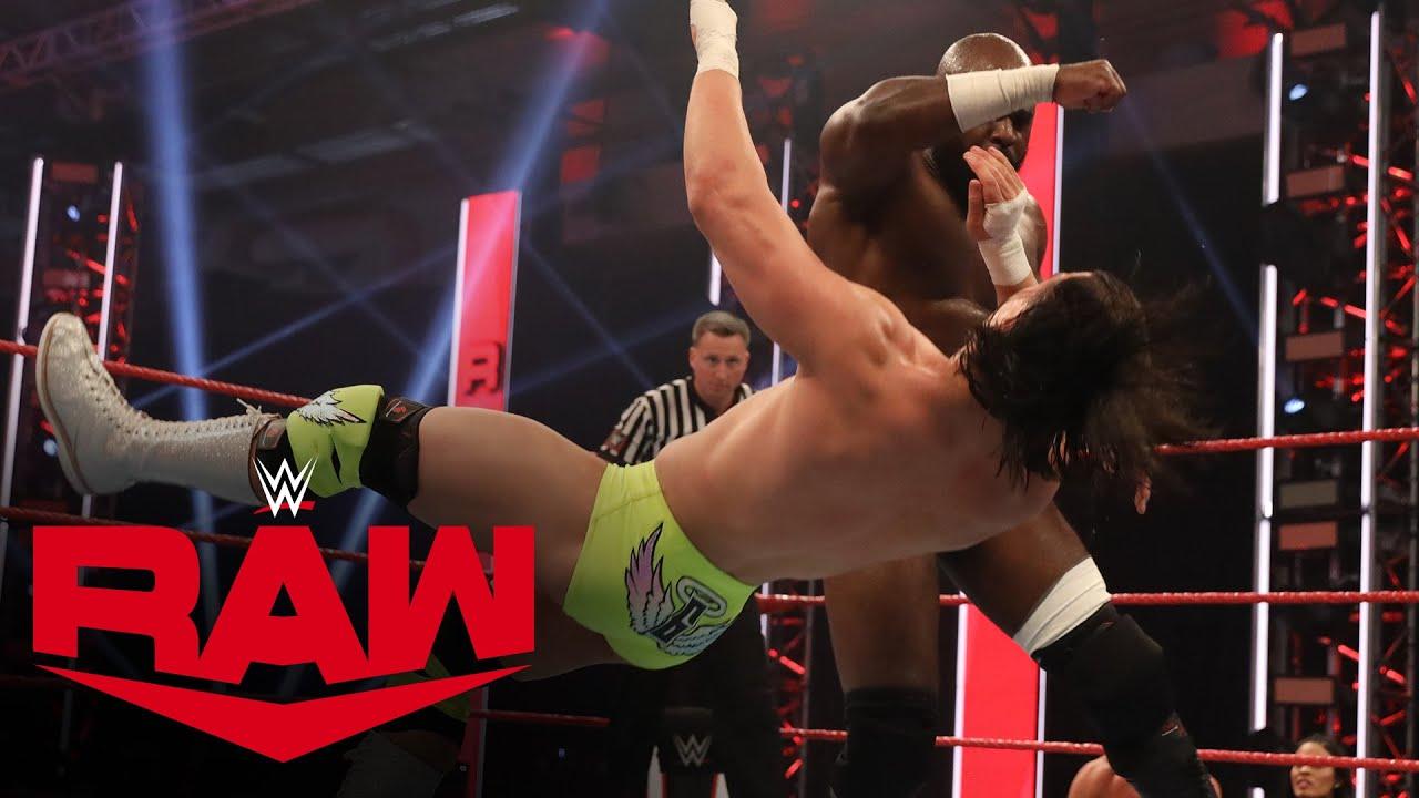 Kevin Owens & Apollo Crews vs. Andrade & Angel Garza: Raw, May 18, 2020