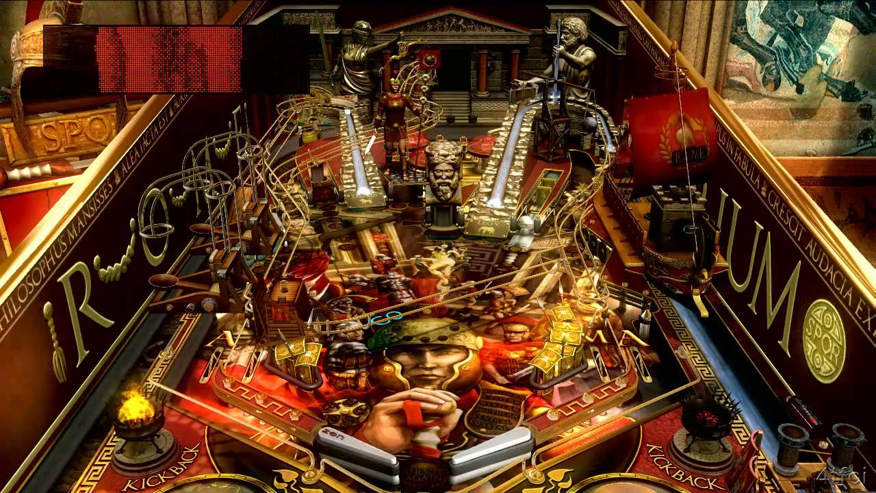 Pinball Fx 2 Rome Table Youtube