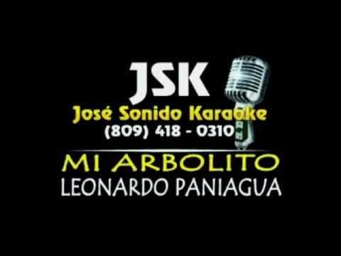 Leonardo Paniagua Mi Arbolito Karaoke