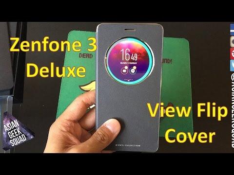 best website 6bd5c 05073 ASUS Zenfone 3 Deluxe View Flip Cover - Review