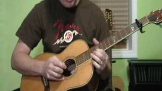Lonnie Johnson - Away Down In The Alley Lesson -  Pt. 2