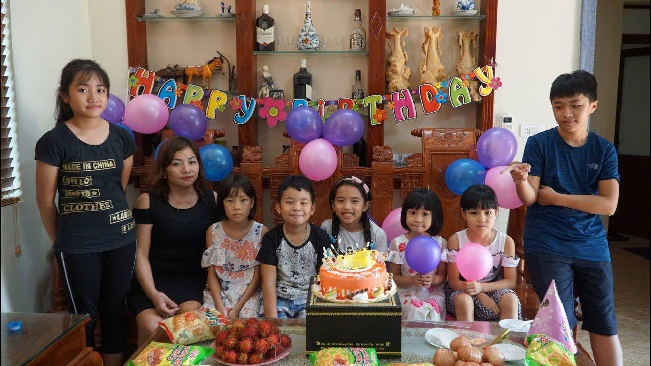 Mẹ Ghẻ Con Chồng Phần 22 – Sinh Nhật Thùy Giang – MN Toys Family Vlogs