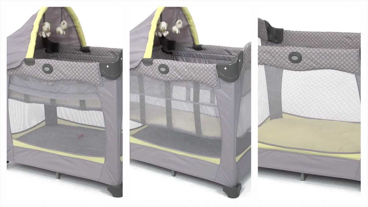 Graco Travel Lite Crib With Stages Youtube