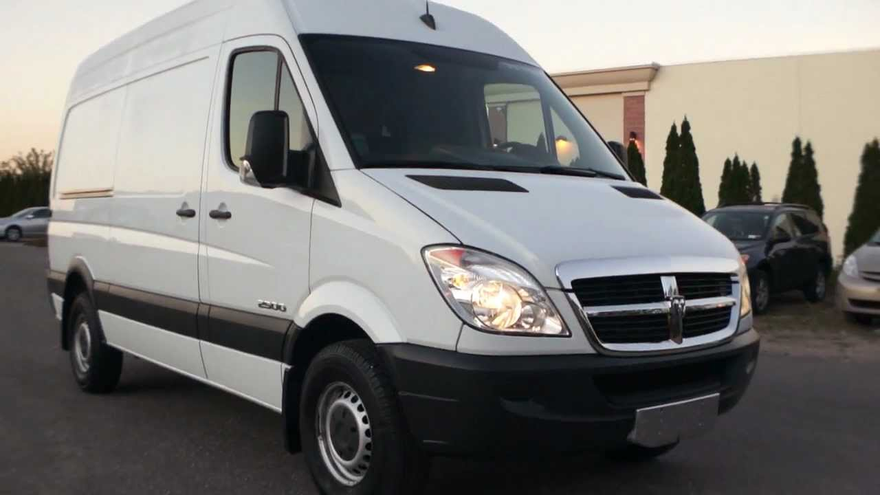 sold 2007 dodge sprinter 140 2500 high top diesel only. Black Bedroom Furniture Sets. Home Design Ideas