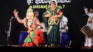 Yakshagana Abhimanyu Chandrashekar dharmasthala Puthige 4)