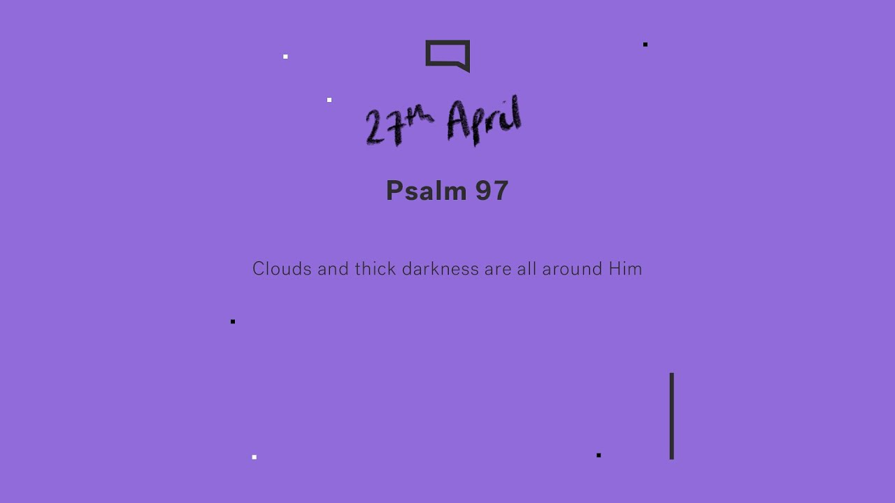 Daily Devotion // Psalm 97 Cover Image