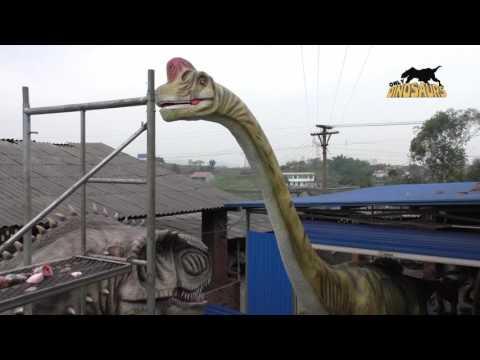12 Meters Long Animatronic Brachiosaurus