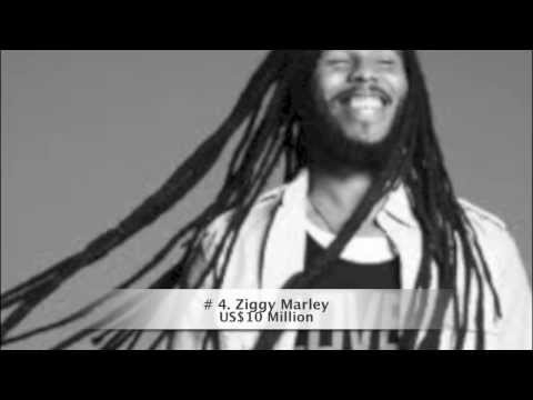 Top 10 Richest Reggae/Dancehall Artists ALIVE as of January 2013 2017