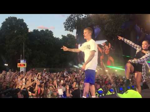 Justin Bieber - Let Me Love You (live @ British Summer Time, London)